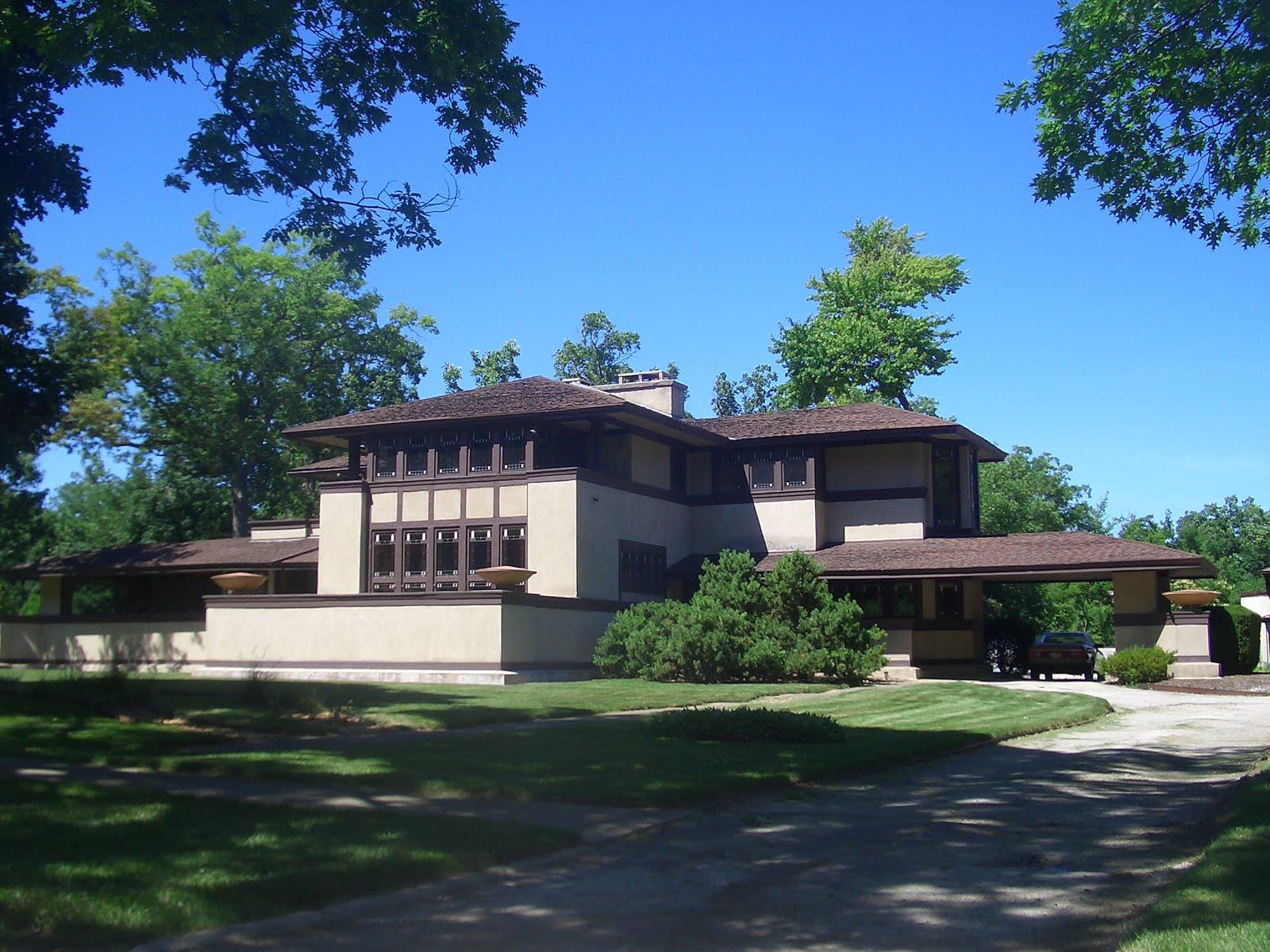 Frank Llyod Wright Ward Willits House Highland Park Illinois