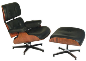 Charles and Ray Eames, Lounge Chair and Ottoman 1955