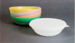 Earl Tupper, Cereal Bowls and Seals 1949