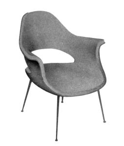 Eero Saarinen and Charles Eames, Armchair 1940