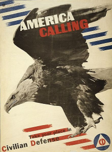 Example of American Poster, Gearing Up for WWII