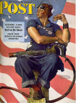 Norman Rockwell, Rosie the Riveter, 1943