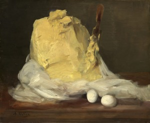 Antoine Vollon, Mound of Butter, 1875/1885