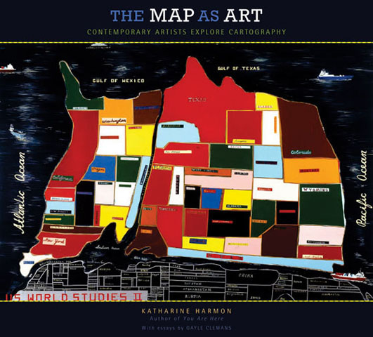 map as art
